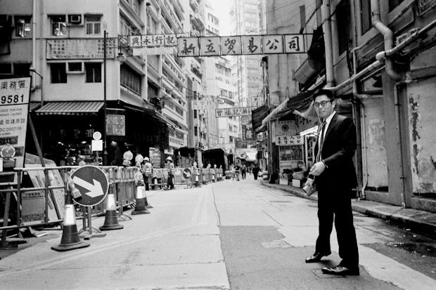 this guy loved street photography Hong Kong