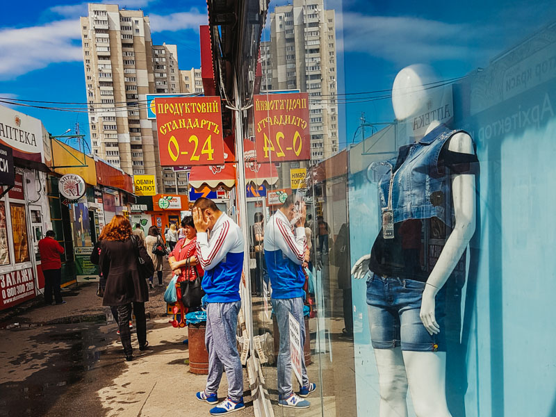 Street photography in Kiev, Ukraine.