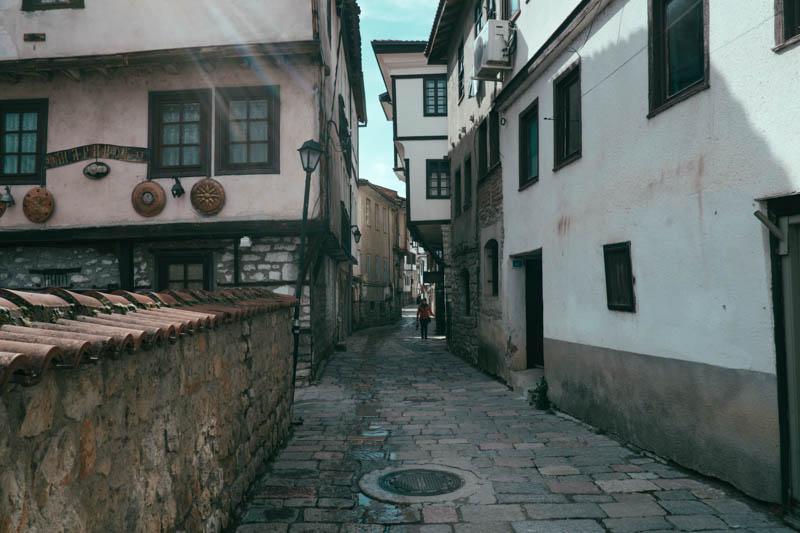 streets of ohrid macedonia