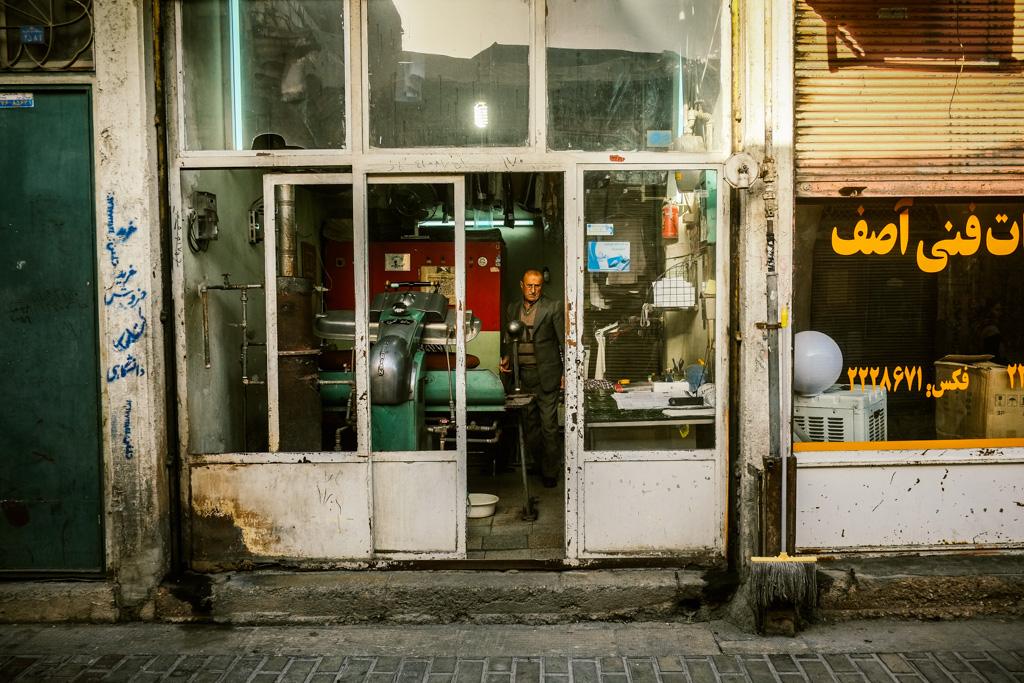 Back streets of Shiraz, Iran.