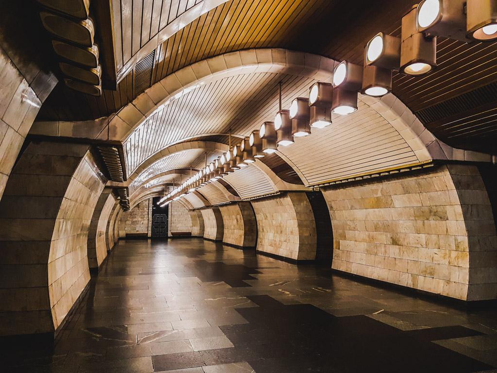 subway interior kiev ukraine