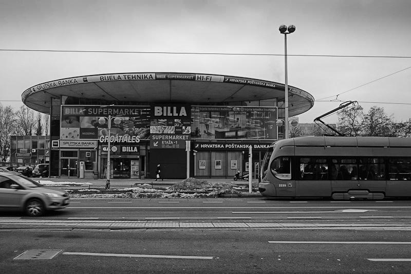Billa supermarket, Zagreb