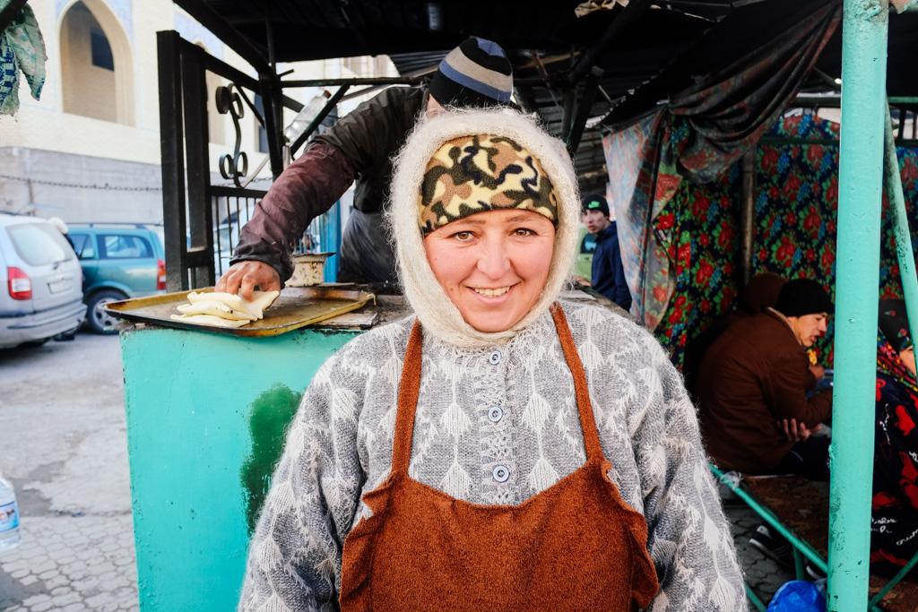 tajikistan street food
