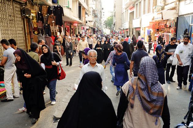 tehran alley market