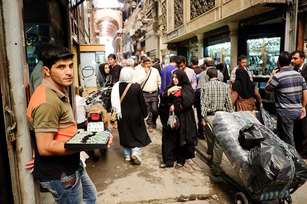 Tehran Bazaar, Iran