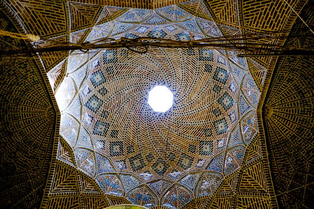 Tehran Grand Bazaar - Ceiling Detail