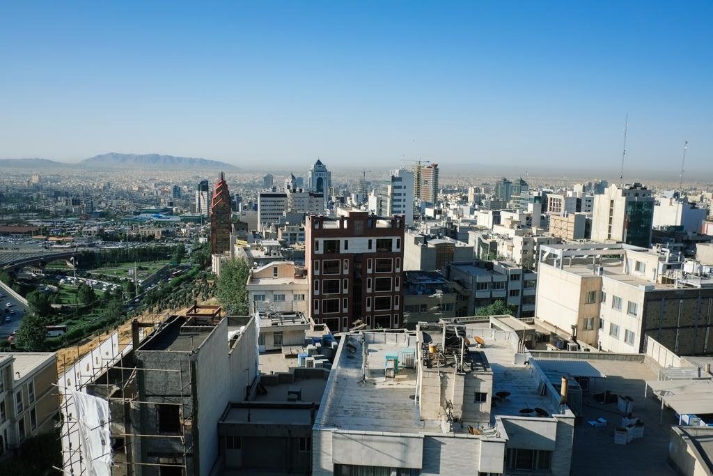 tehran view on the iran tour