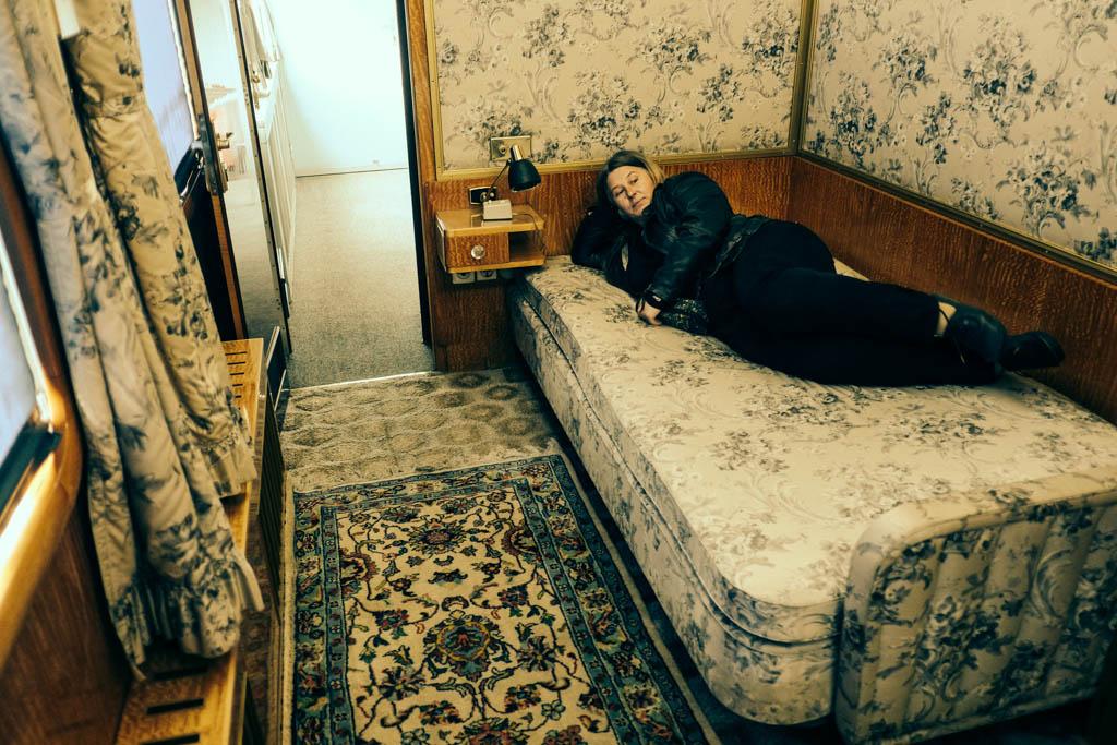 Tito's train - wife's bedroom