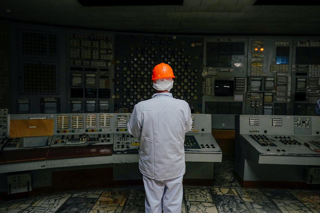 tour inside chernobyl reactor