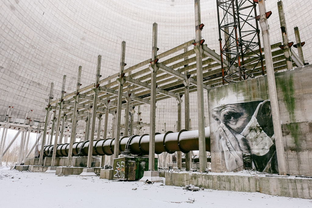 touring the cooling tower
