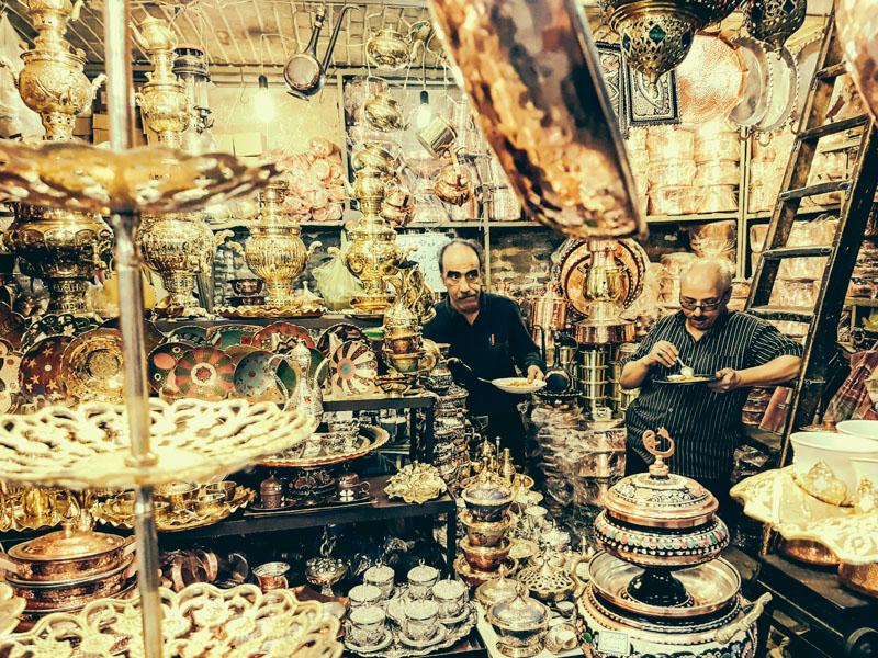 tour tehran bazaar