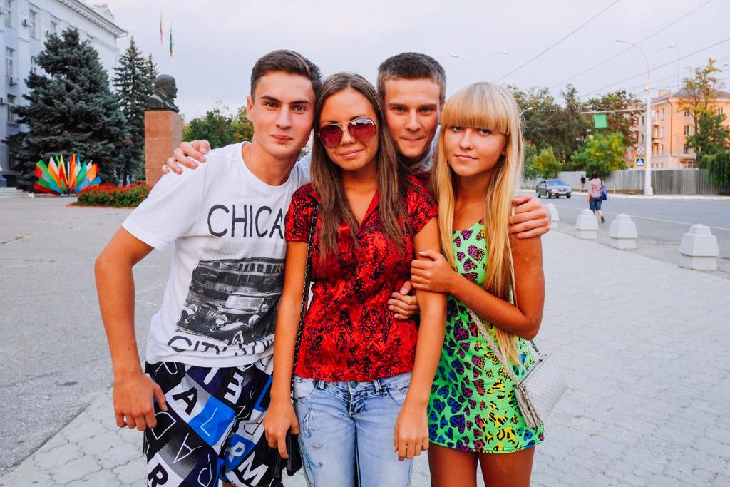Teenagers, Tiraspol, Transnistria.