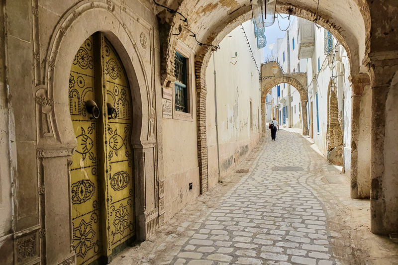 tunis medina walking tour