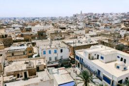 tunisia walking tours