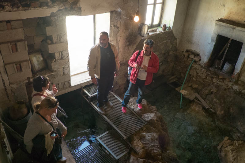 House of spring water, Tushemisht near Pogradec Albania.