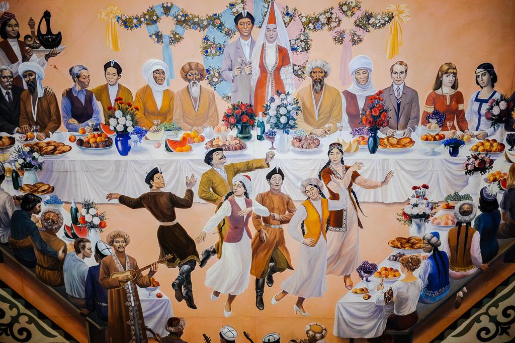 ussr propaganda bishkek museum lenin