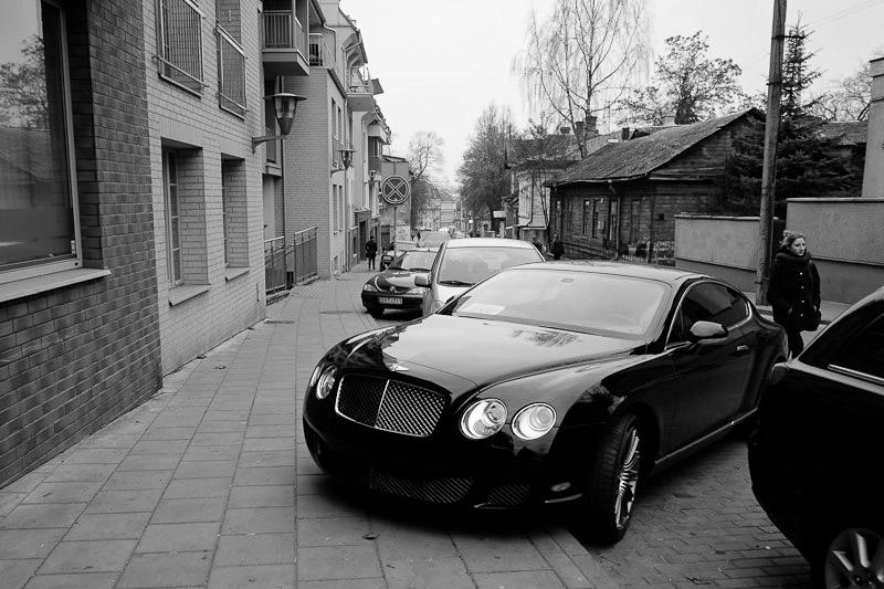 Bentley, Uzupis.
