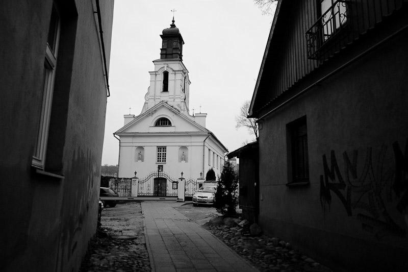 uzupis church