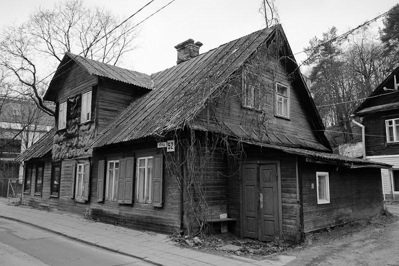 Typical house - Republic of Uzupis.