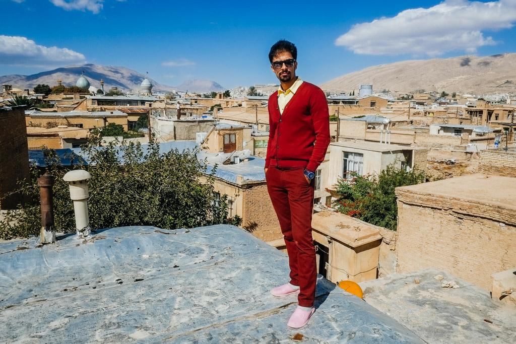 vahid tour guide shiraz