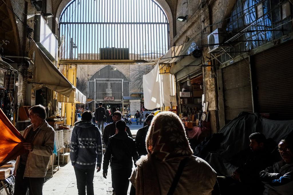 Vakil Bazaar, Shiraz, Iran.