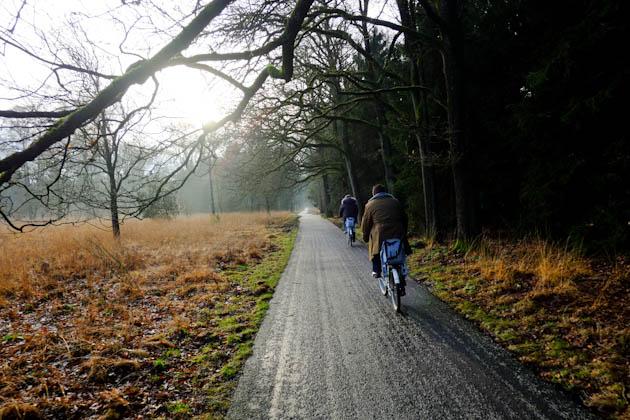 veluwe national park bicycling