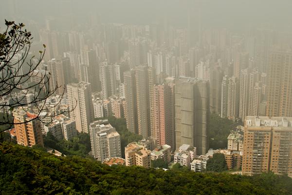 Sea of Skyscrapers from Victoria Peak, Hong Kong