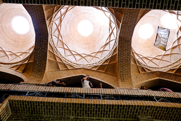 Once you arrive in Iran, visa in hand, get used to looking up and being amazed.