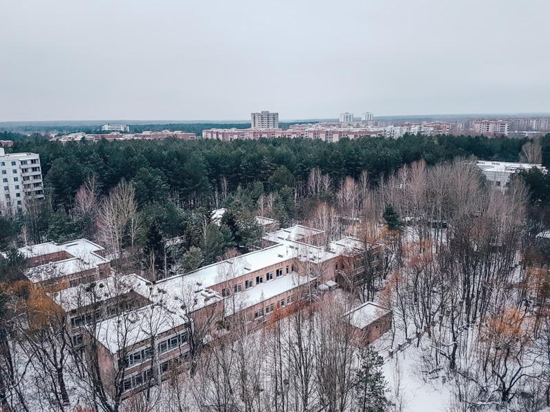 winter abandoned chernobyl